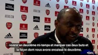 """Image d'aperçu pour 8e j. - Vieira : """"Déçu de quitter le stade sans avoir gagné"""""""