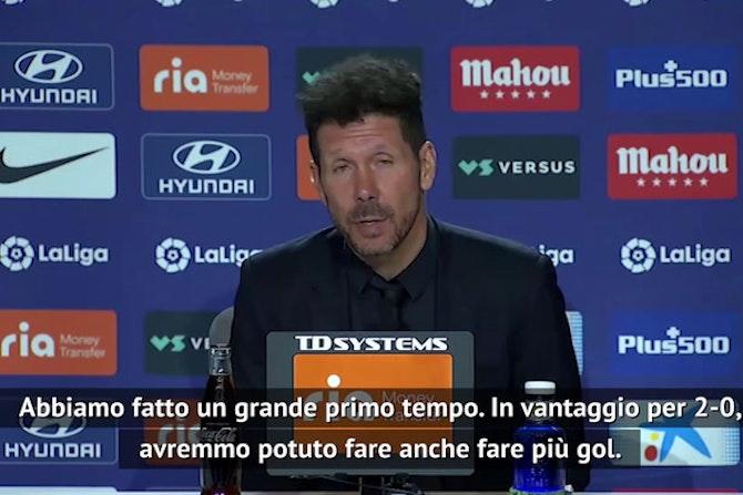 """Simeone: """"L'importante è vincere ma che sofferenza..."""""""