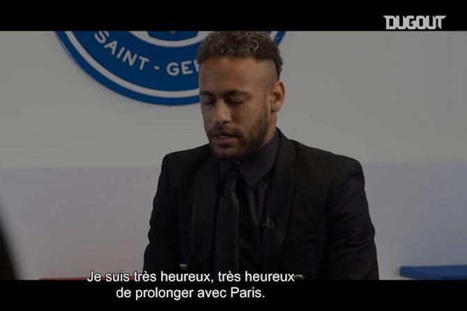 Neymar Jr prolonge son contrat avec le PSG