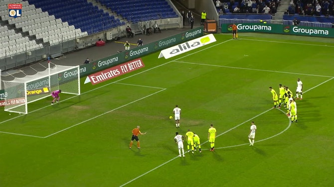 Vorschaubild für All Memphis Depay Ligue 1 goals in 2020-21