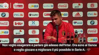 """Anteprima immagine per Zinho Vanheusden: """"Bello vivere in Italia. L'Inter? Ora penso al Genoa..."""""""