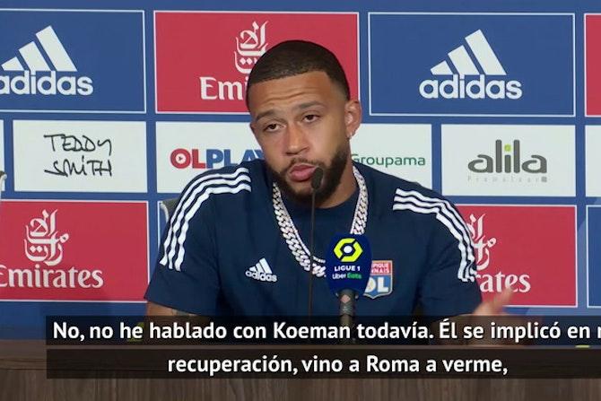 """Depay se deja querer por el Barça: """"Puedo soñar con grandes clubes"""""""