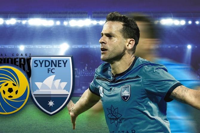 Trent Buhagiar rettet Sydney FC das Unentschieden | Central Coast Mariners - Sydney FC