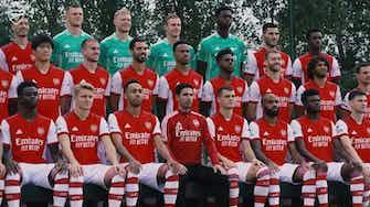 Imagem de visualização para Confira os bastidores da foto oficial do elenco do Arsenal