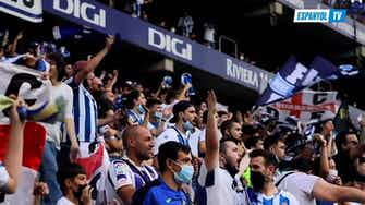 Preview image for Behind the scenes: Espanyol celebrate win against Real Madrid