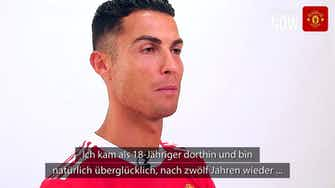 """Vorschaubild für Ronaldo: """"Froh, wieder zu Hause zu sein"""""""