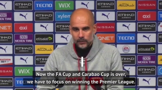 City 'will be ready' for Champions League final - Guardiola