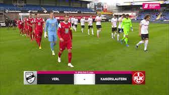Vorschaubild für SC Verl - 1. FC Kaiserslautern (Highlights)