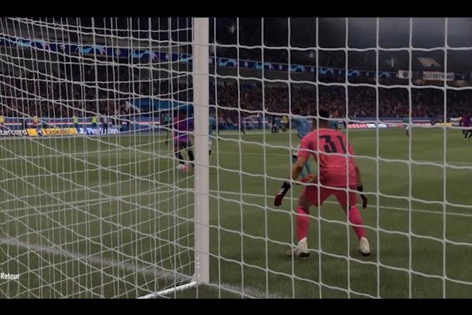 Beau duel entre le PSG et City sur FIFA 21 !