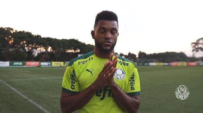 Imagem de visualização para Borja se diz mais maduro após empréstimo e retorno ao Palmeiras