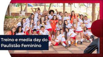 Imagem de visualização para Treino e media day para o Paulistão Feminino