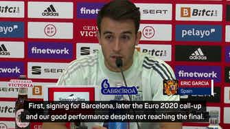 Preview image for Spain defender Garcia reflects on 'dream summer'