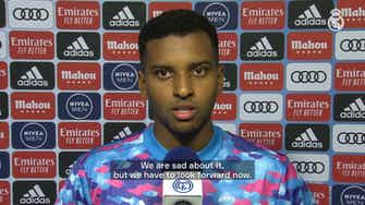 Preview image for Rodrygo: 'We deserved more'