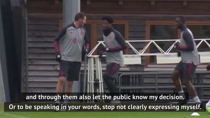 Decision to leave Bayern was 'spontaneous' - Flick