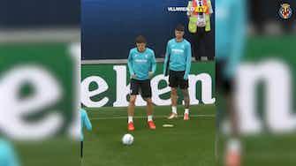 Preview image for Villarreal prepare for UEFA Super Cup