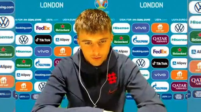Every time Billy Gilmour plays, he gets Man of the Match! Mason Mount ©️UEFA 2021