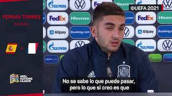 """Imagen de vista previa para Ferrán Torres: """"En una final los dos equipos son favoritos"""""""