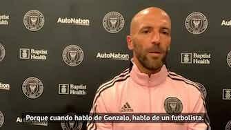 """Imagen de vista previa para Federico Higuaín después de su gol y el de su hermano: """"Es genial"""""""