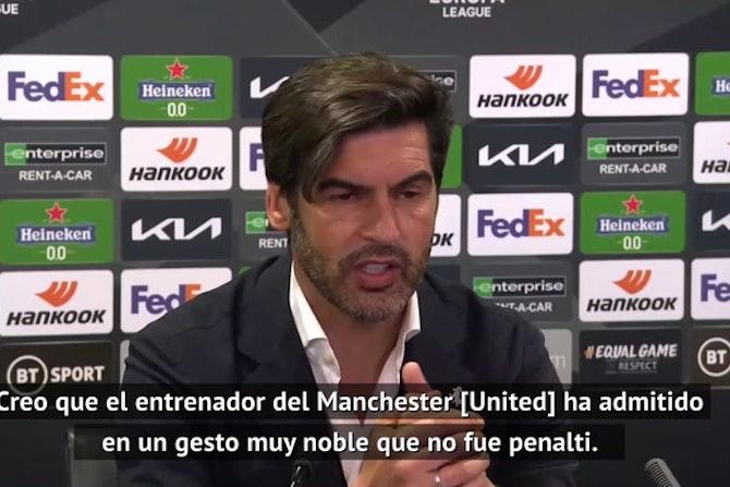 Fonseca lamenta las lesiones y el penalti