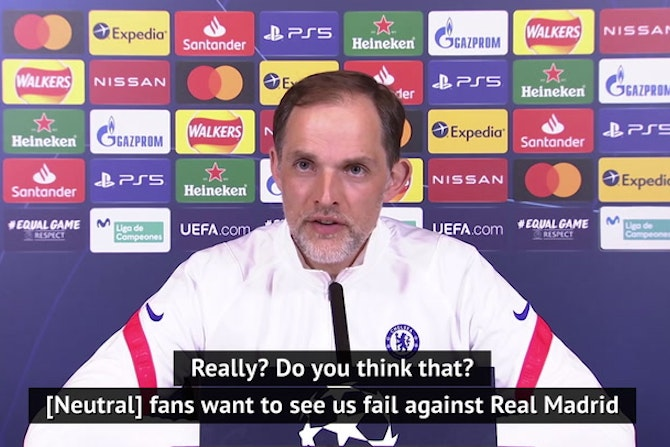 Tuchel promises Chelsea 'passion' for Champions League in wake of ESL debacle