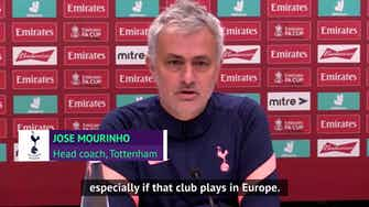 Preview image for Mourinho calls on Premier League to show 'leadership' amid COVID postponements