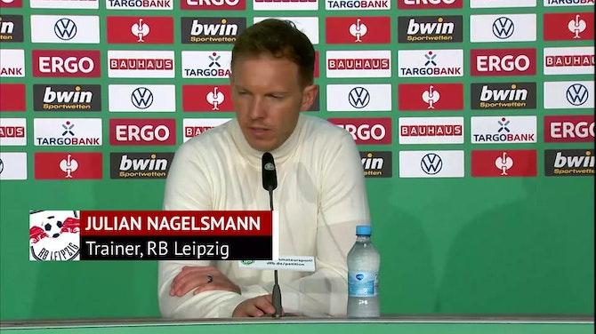 Nagelsmann: Waren nicht das schlechtere Team