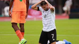 Vorschaubild für Vorrunden-Aus statt Medaille: Fußballer enttäuschen in Tokio