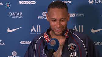Imagem de visualização para Neymar exalta torcida e sacrifício do PSG em virada sobre o Lyon