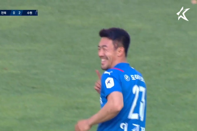 Lee Ki-je screamer at Jeonbuk