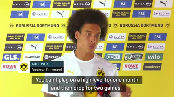 Preview image for Witsel not entertaining Dortmund championship talk