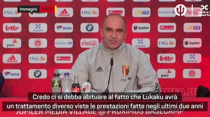 """Anteprima immagine per Martinez: """"Lukaku è diverso da tre anni fa"""""""