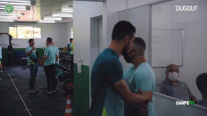 Behind the scenes of Chapecoense's first day of 2021 season