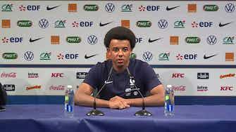 """Image d'aperçu pour Bleus - Koundé : """"J'y ai toujours cru"""""""