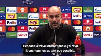 """Image d'aperçu pour Groupe A - Guardiola : """"L'un de nos meilleurs matches européens"""""""