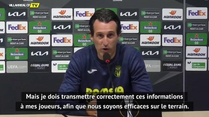 Demies - Emery vise la Ligue des champions