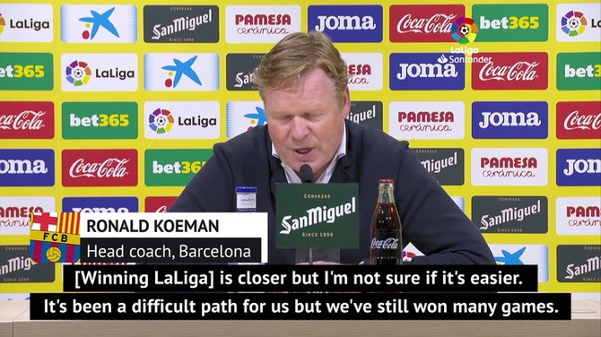 Preview image for Koeman eyeing LaLiga title for Barca after Atletico slip-up