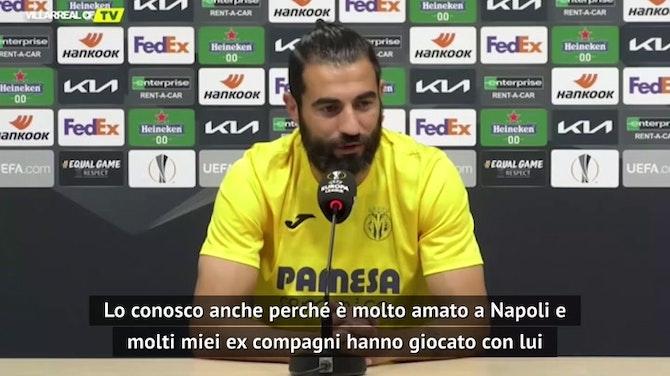 """Albiol: """"Cavani lo conosco bene, è amato a Napoli..."""""""
