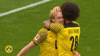 Preview image for Julian Brandt scores the winner vs Augsburg