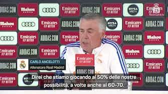 """Anteprima immagine per  Ancelotti fotografa il suo Real: """"È una squadra con le palle"""""""