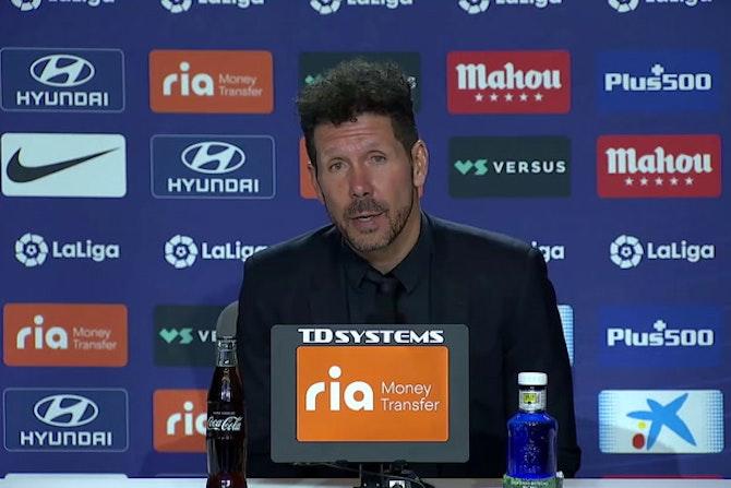 """Simeone, en titulares: """"Sabíamos que teníamos que ganar"""""""