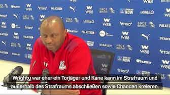 """Vorschaubild für Vieira über Kane: """"Henry ist auf einem anderen Niveau"""""""