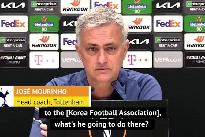 Mourinho worried for Spurs stars on international break