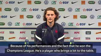 Preview image for 'One of the best in the world' - Rabiot and Lemar praise Kanté
