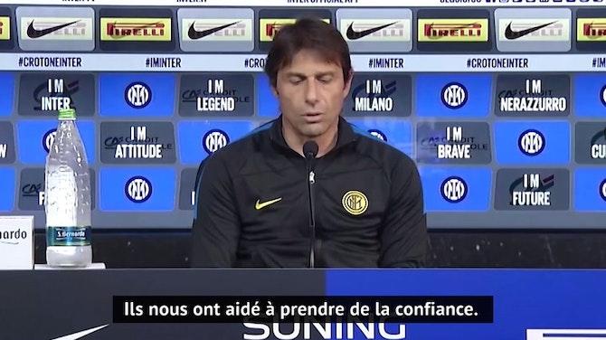 Image d'aperçu pour 34e j. - Conte explique comment l'Inter est resté maître de son destin