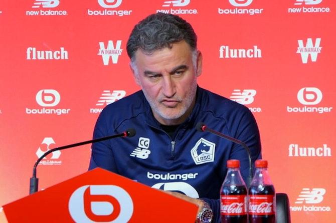 "34e j. - Galtier : ""Rudi, aucun dirigeant ne m'a contacté"""