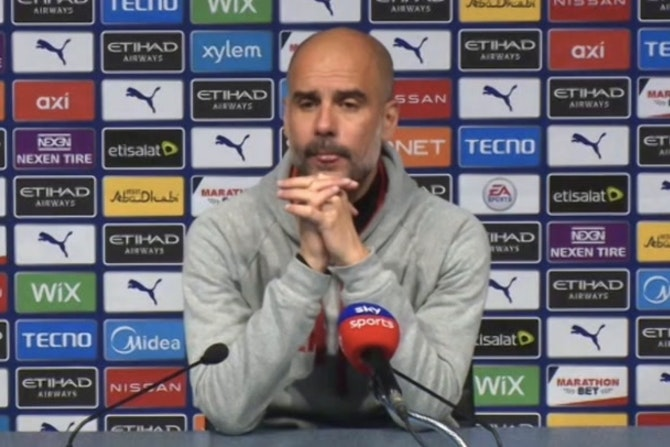 Congratulations Chelsea only for this victory! Pep Guardiola
