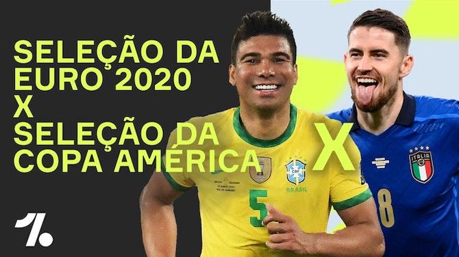 Imagem de visualização para Quem são os MELHORES entre as SELEÇÕES da Euro e da Copa América?