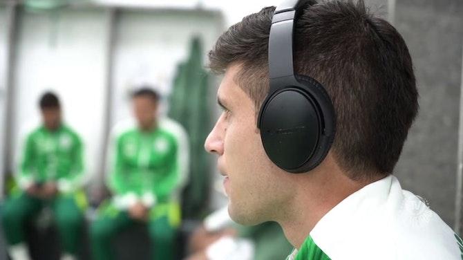 Bastidores da vitória do Palmeiras sobre o Juventude no Brasileirão