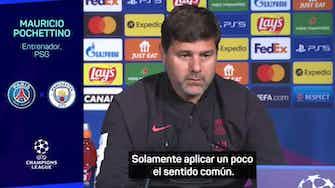 """Imagen de vista previa para Pochettino: """"Es un hecho, no una opinión, el PSG es un equipo en construcción"""""""