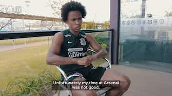 """Preview image for Willian: """"I wasn't happy at Arsenal"""""""